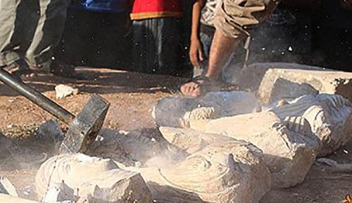 الإرهاب الثقافي | تماثيل جنائزية تدمرية