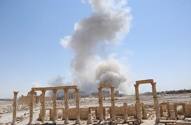 الإرهاب الثقافي |آثار تدمر |  معبد بل
