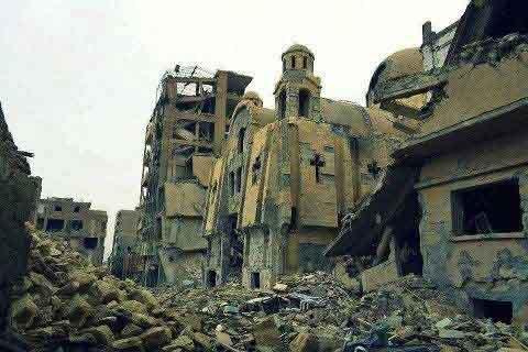 كنيسة السريان الأرثوذكس - ديرالزور