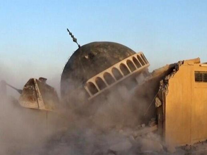 """ضريح ومزار """"أحمد الرفاعي"""" في ناحية المحلبية- العراق"""