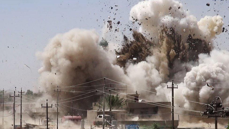 القبة الحسينية  في مدينة الموصل- العراق