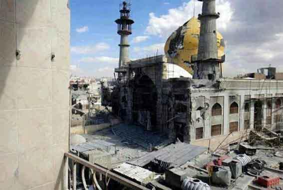 مقام السيدة سكينة عليها السلام بريف دمشق