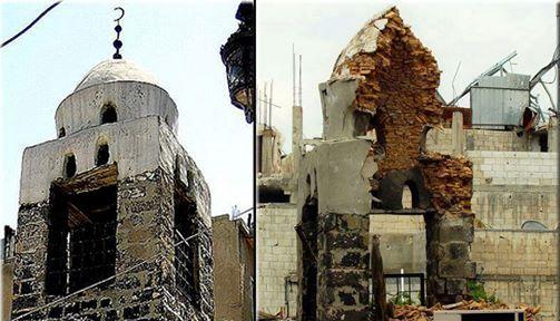 مئذنة جامع الشيخ ناصر الآثرية – باب تدمر